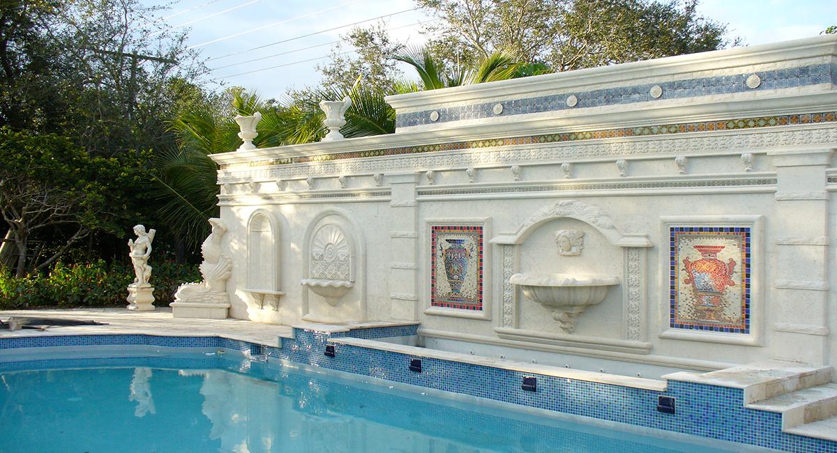 Cornerstone and garden exterior designs for Online exterior design services